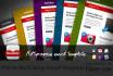 design Aweber,Constant Contact,GetResponse template