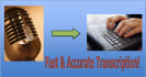 accurately transcribe any audio file up to 10 minutes