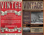 design Retro Vintage Flyer