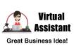 do data entry work also do as Virtual Assistant