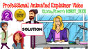 create a Professional EXPLAINER Video for you