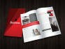 make half fold and tri fold brochures design
