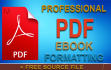 format and design your ebook to an eye catching PDF