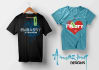 design eye catching casual,cooperate and custom T shirts