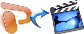 convert your POWERPOINT into Full hd video in any format