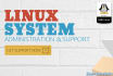 install, setup, configure and tune your linux server