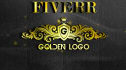turn your logo in 3D gold sign