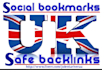 do top 21 quality UK social bookmarking for your site