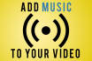 add music to your video