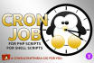 set up CRON job on Linux or Unix