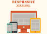 write responsive html and css code for you