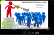 give you 150 High PR or 400 directory submission