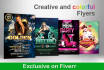 design a beautiful flyer or brochure or poster