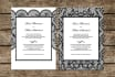 customize these lace invitations for you
