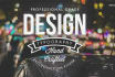 create an original vectorized t shirt design
