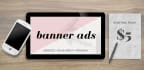 create an amazing and original web banner