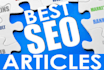 write two 400 word SEO Blog Articles within 24hrs