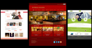 design a creative and stunning PSD Home Page Web Design