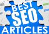 write a 500 word SEO optimized Article