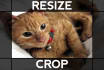 crop Resize Picture and keep same quality