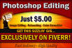 be your Photoshop Designer or Editor