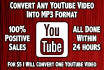 convert Any YouTube Video Into MP3 Format