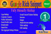 do Rich Snippets,Schema Markup And Structured Data