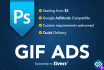 design a GIF Advertisement