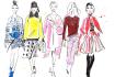 design original Fashion Illustration any Style