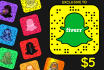 customize your Snapchat SNAPCODE with your picture or logo