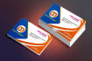 design simple business card within 5 hours