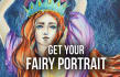 illustrate your portrait in a fairy style