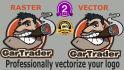 professionally convert your logo into vector