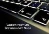 do guest post on my PR4 Technology blog