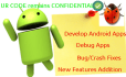 develop android apps and debug android apps