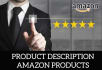 write 500 words description of Amazon Products