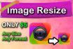 resize image, photo or logo