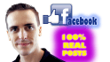 post real FACEBOOK posts on your page