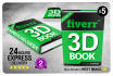 turn your Flat Book Cover Into 3D Cover in 24Hrs