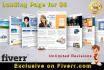 design Responsive Landing Page to Double Sales