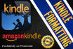 format your eBook for  Kindle and Smashwords within 48 hours