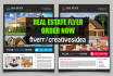 design a Awesome Flyer for your Real Estate Business