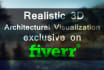 do realistic 3D architectural rendering and visualization