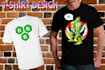 create for you well favored T Shirt design in 8 hours