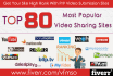 manually submit VIDEO to 80 video sharing submission PR9 sites