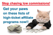 give you a set of high ticket affiliate programs