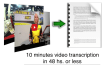 transcript your 10 minutes video