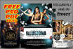 design Party,Club,Event Flyer with Free pdf,psd files