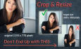 crop, scale or resize your photos