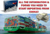 show You How to Start Importing From China